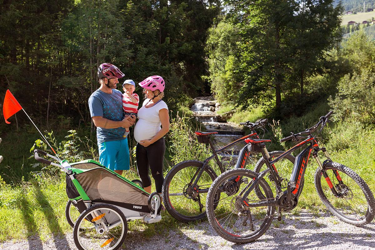 Biken Sommerurlaub Wagrain Kleinarl 2