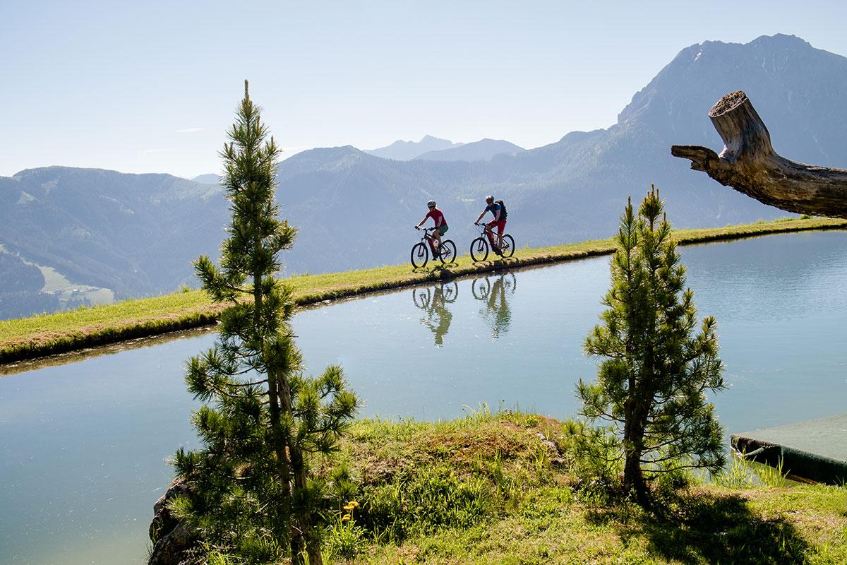 E-Biken, Sommerurlaub in Wagrain-Kleinarl