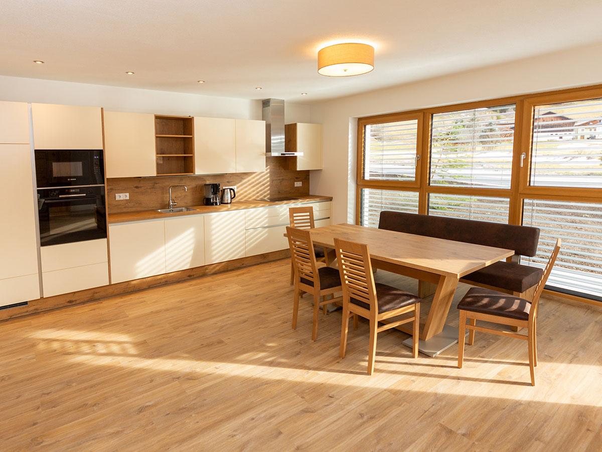 Wohnküche - neue Ferienwohnungen in Kleinarl, Salzburger Land