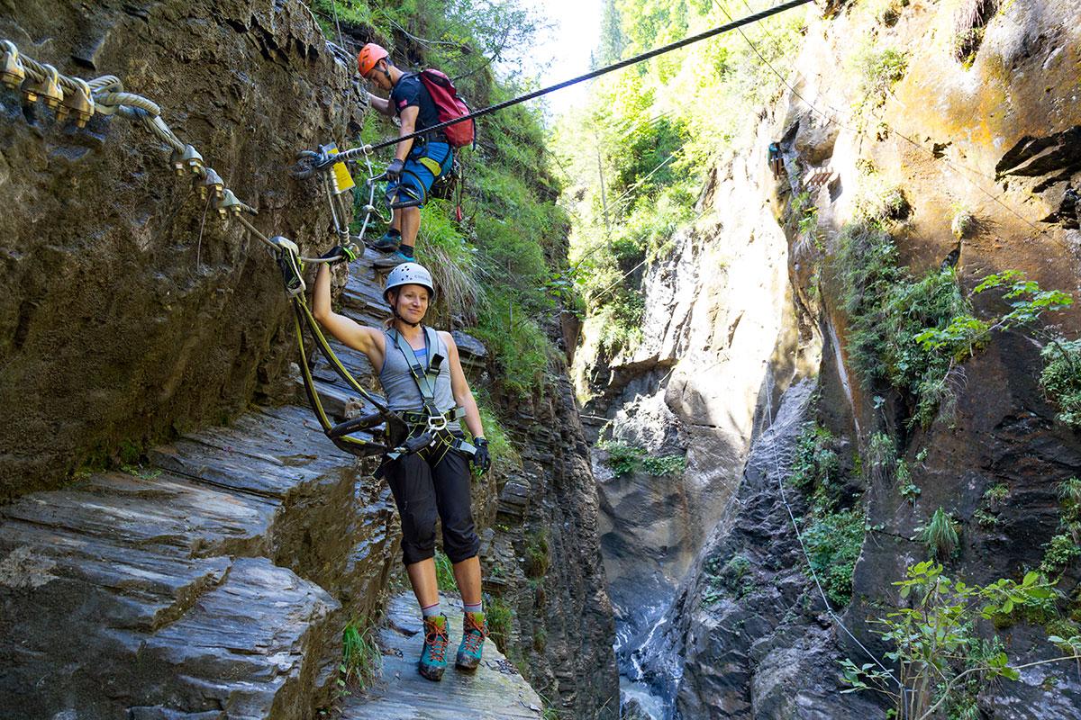 Klettern Wagrain Kleinarl 1