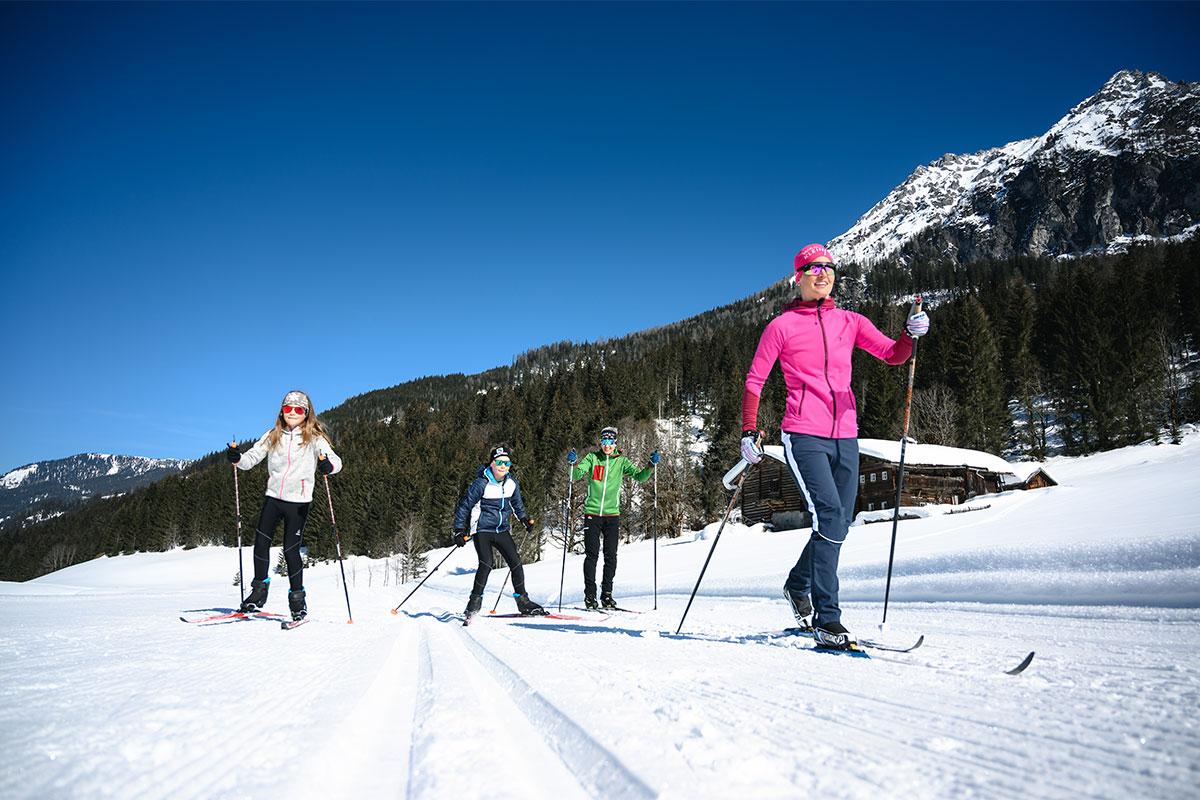 Langlaufen Winterurlaub Wagrain Kleinarl 2