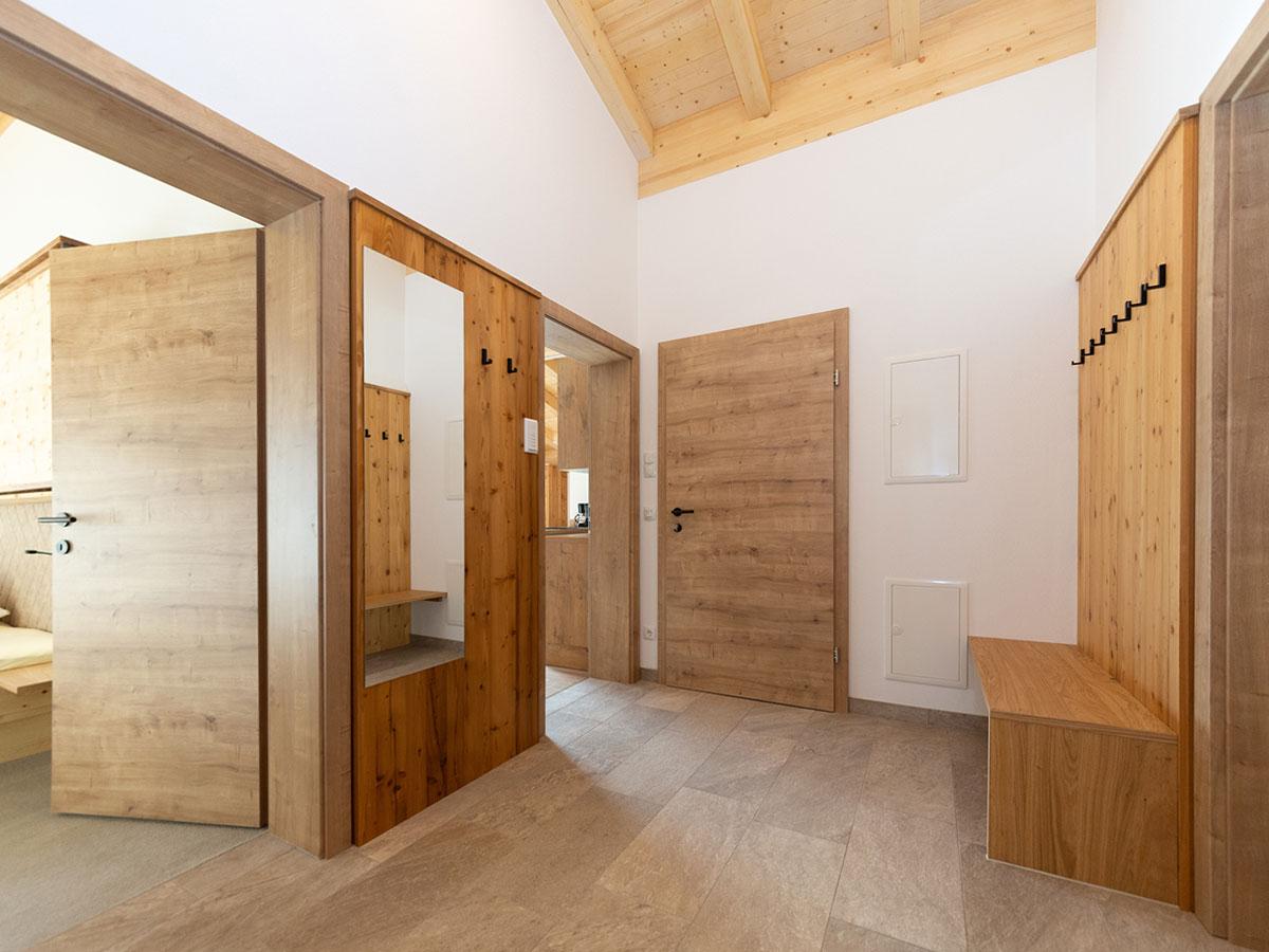 Obergeschoss Vorraum Ferienwohnungen Kleinarl 3