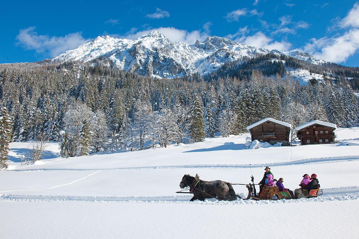 Pferdeschlittenfahrten, Winterurlaub in Wagrain-Kleinarl