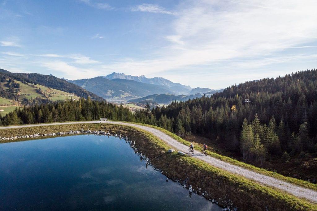Radfahren im Sommerurlaub in Wagrain-Kleinarl, Salzburger Land