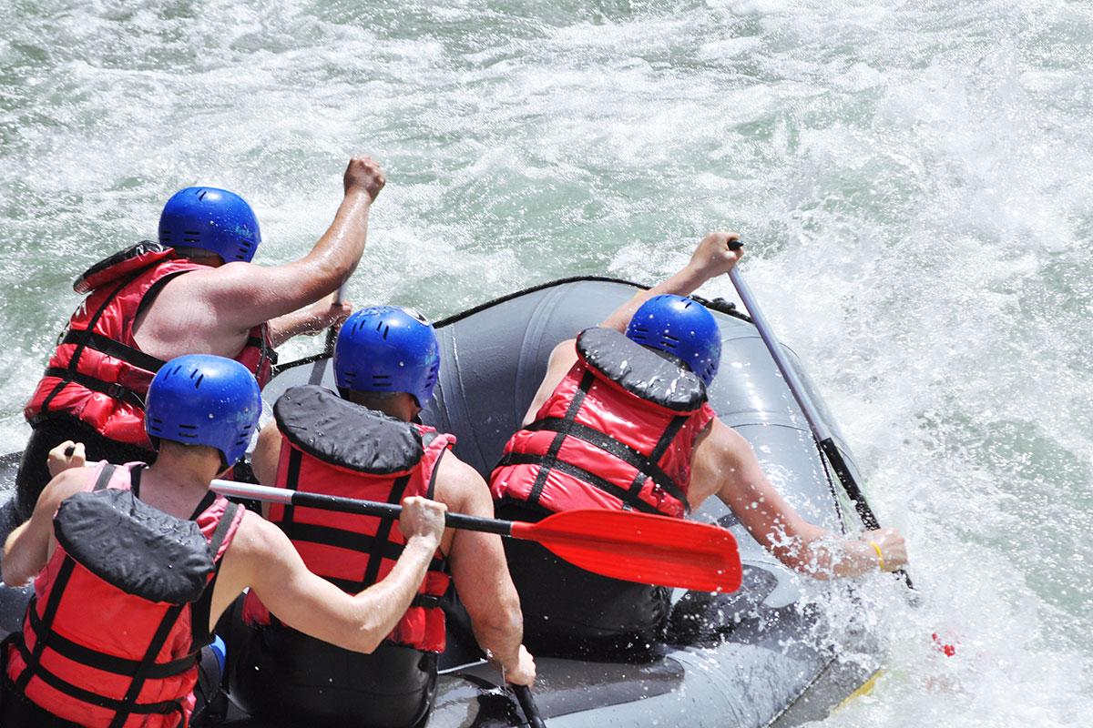 Rafting, Sommerurlaub in Wagrain-Kleinarl