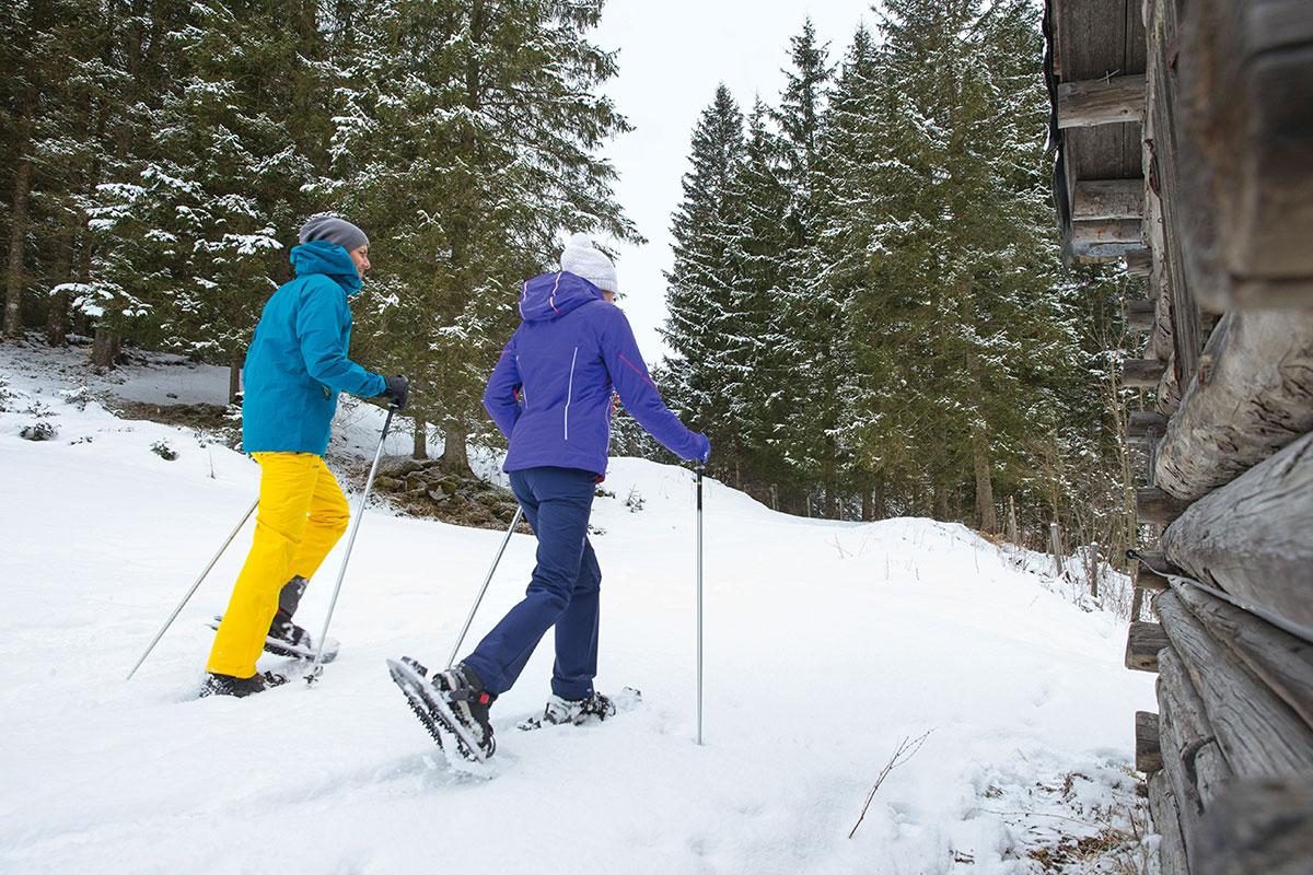 Schneeschuhwandern, Winterurlaub im Salzburger Land