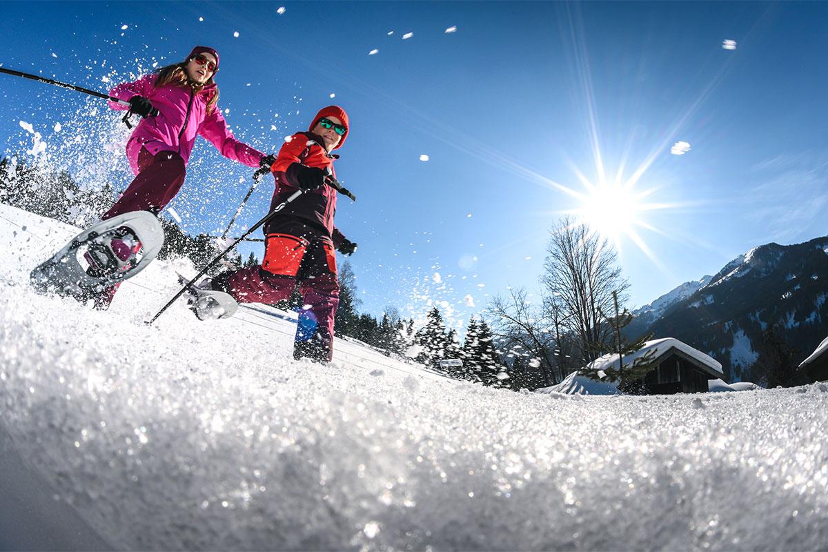 Schneeschuhwandern Winterurlaub Salzburger Land 3