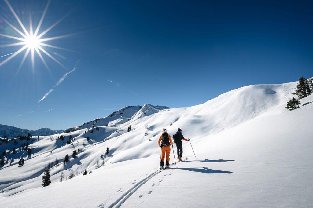 Skitour im Winterurlaub in Wagrain-Kleinarl, Salzburger Land