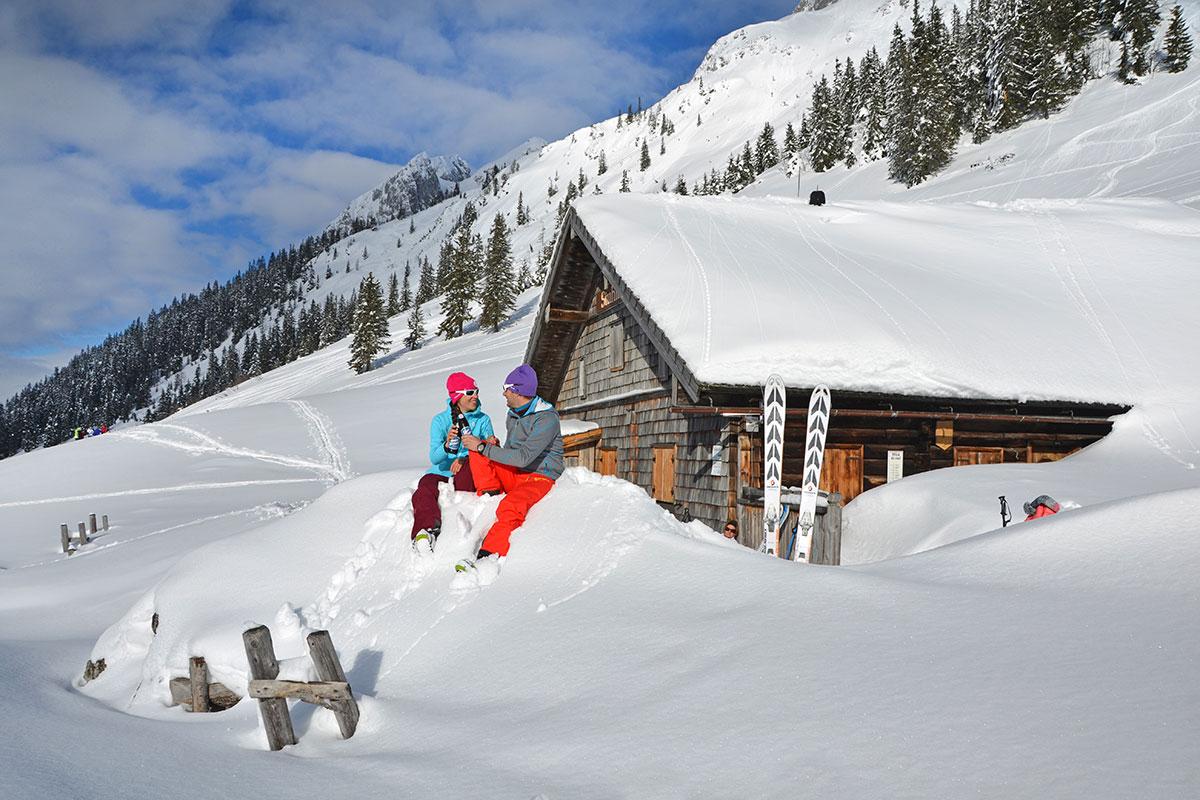 Skitouren, Winterurlaub im Salzburger Land
