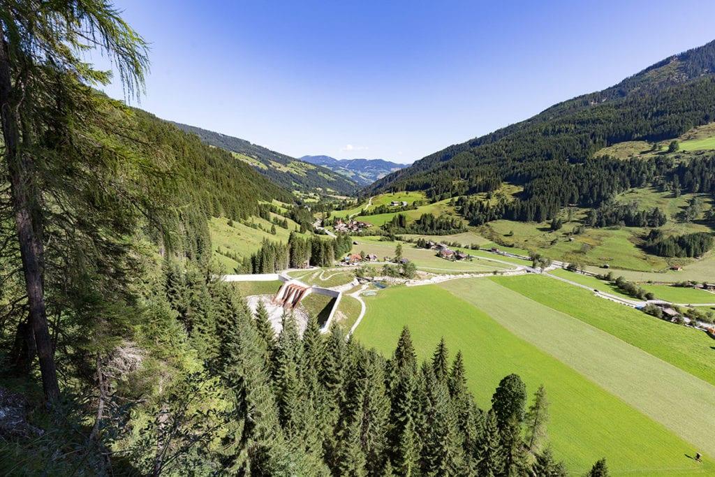 Blick über Wagrain-Kleinarl, Salzburger Land