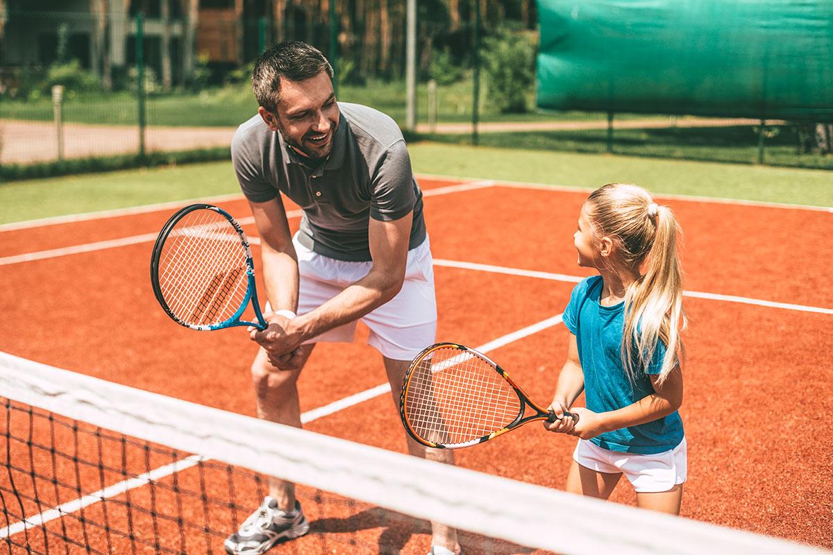 Tennis spielen, Sommerurlaub in Wagrain-Kleinarl