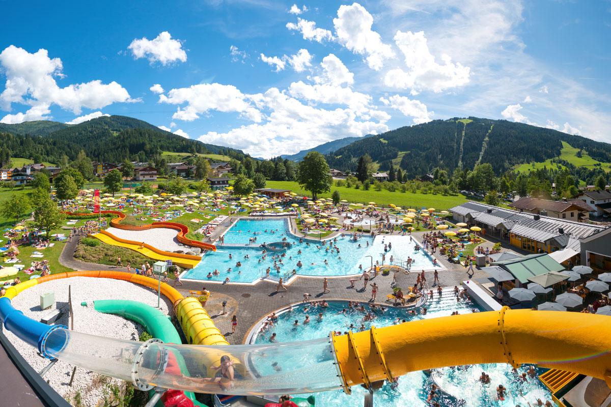 Wasserwelt Wagrain, Sommerurlaub in Wagrain-Kleinarl